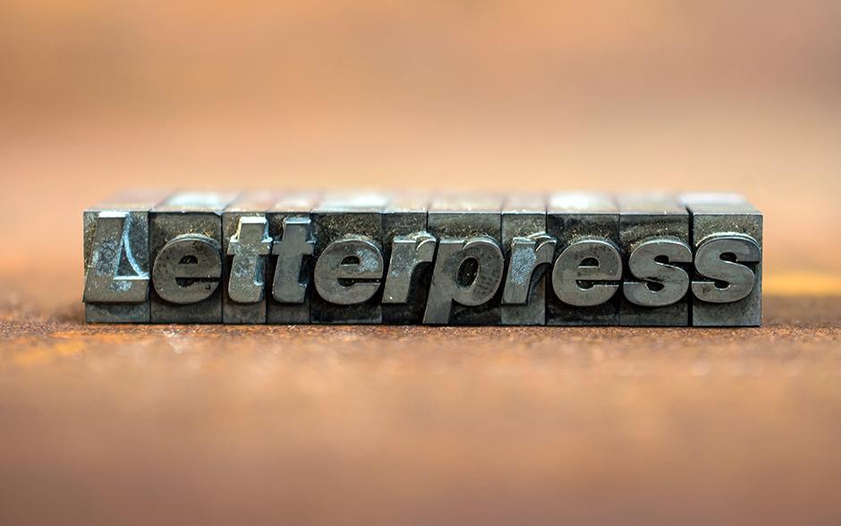Was ist Letterpress?