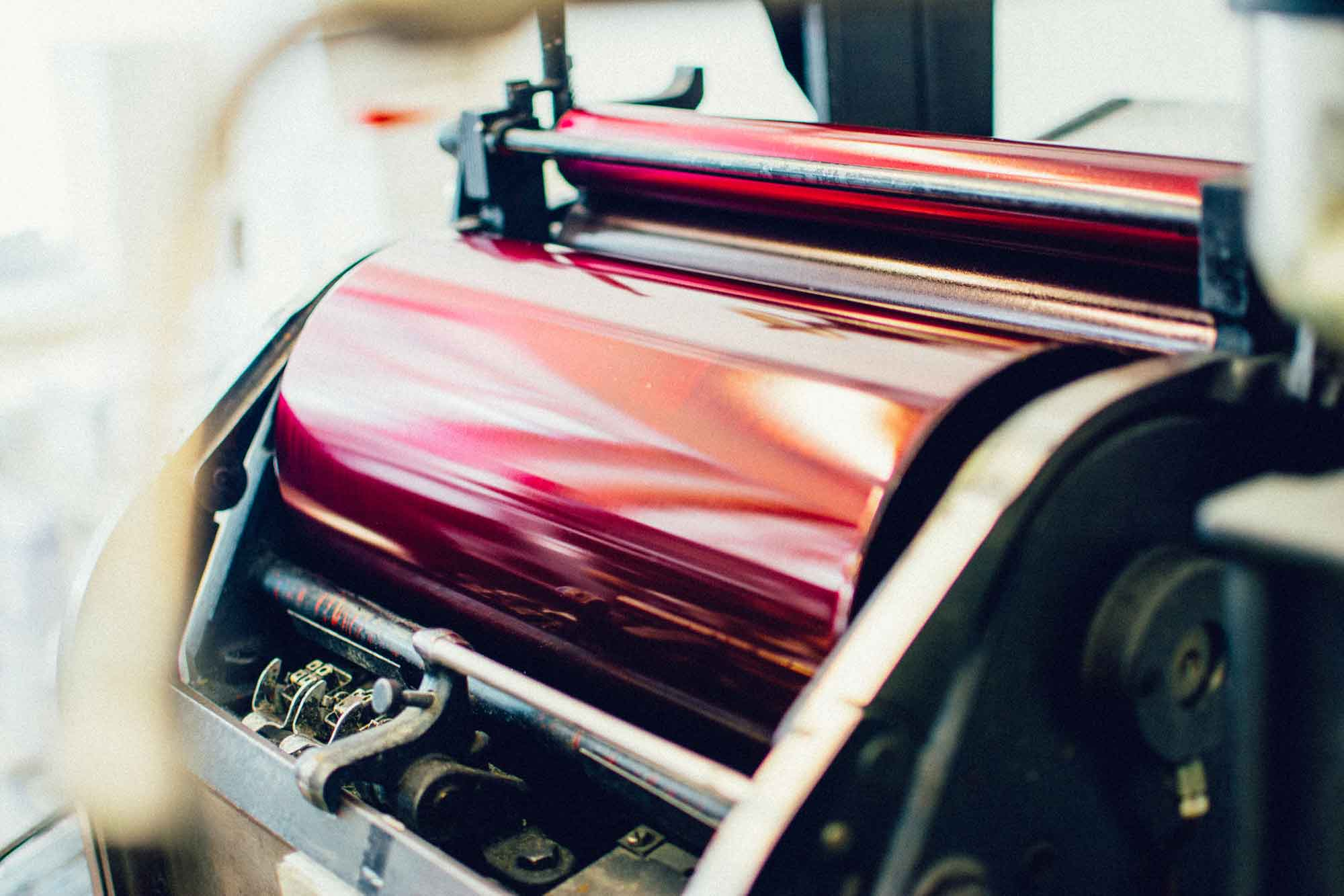 Druckprodukte im Letterpress