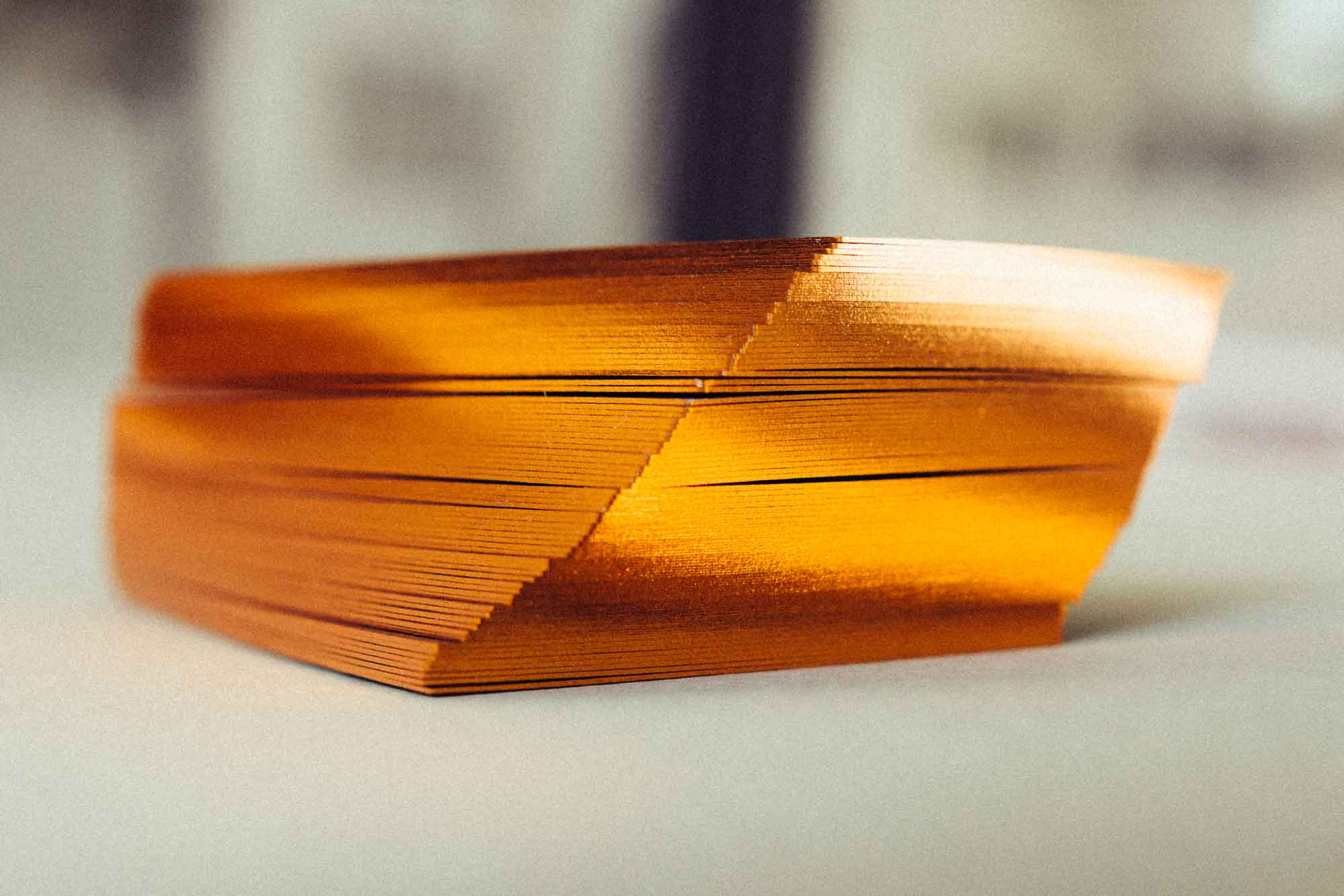 Schnittverzierung Goldschnitt Und Folienschnitt