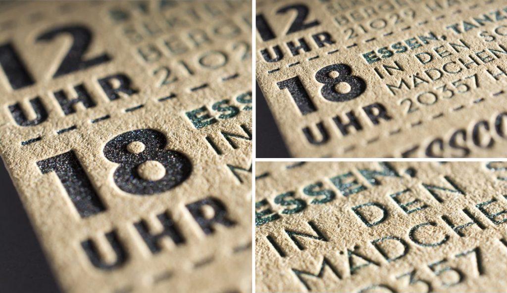 Warum werden Hochzeitskarten gerne im Letterpress gefertigt?