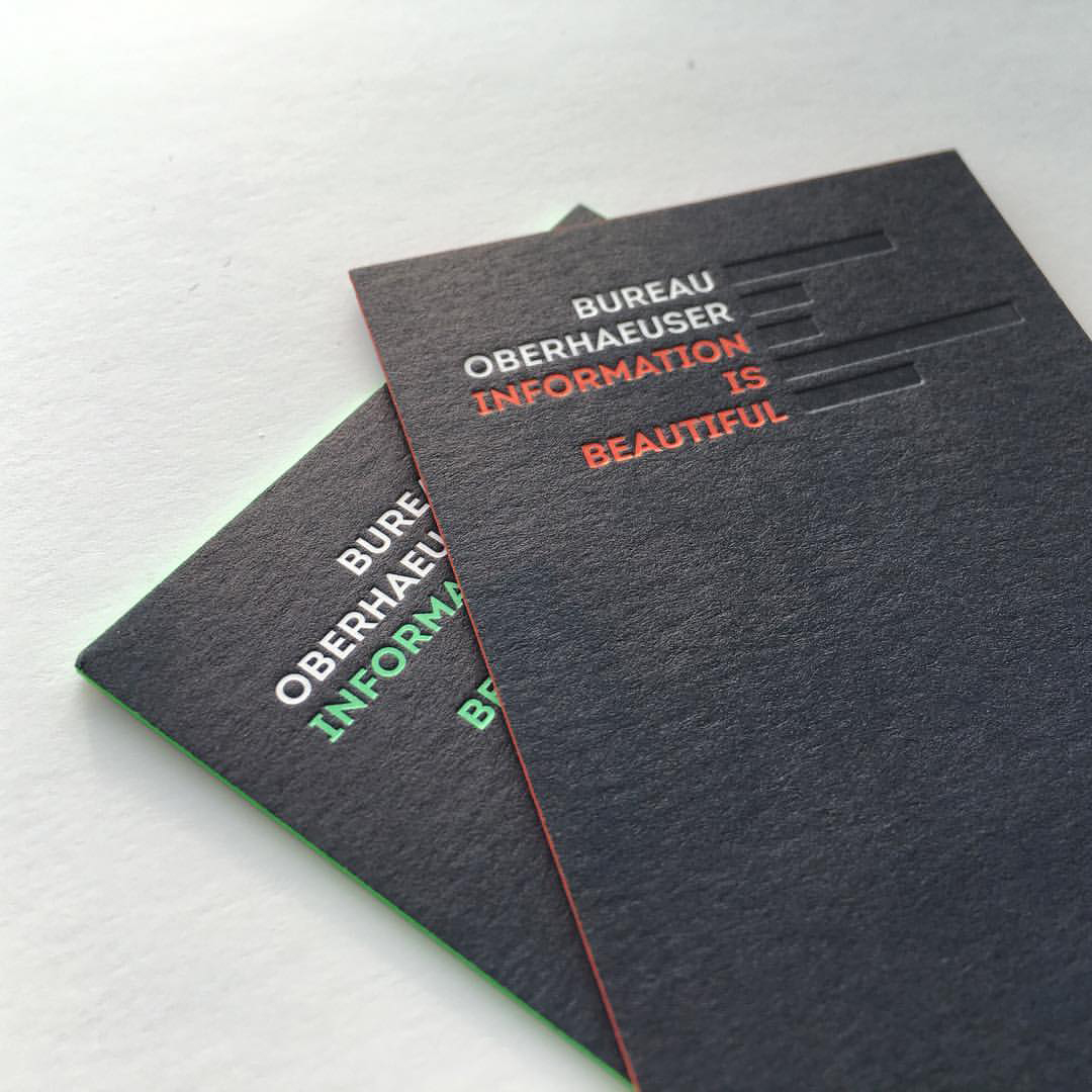 Farbschnitt Als Schnittverzierung Letterpress Manufaktur