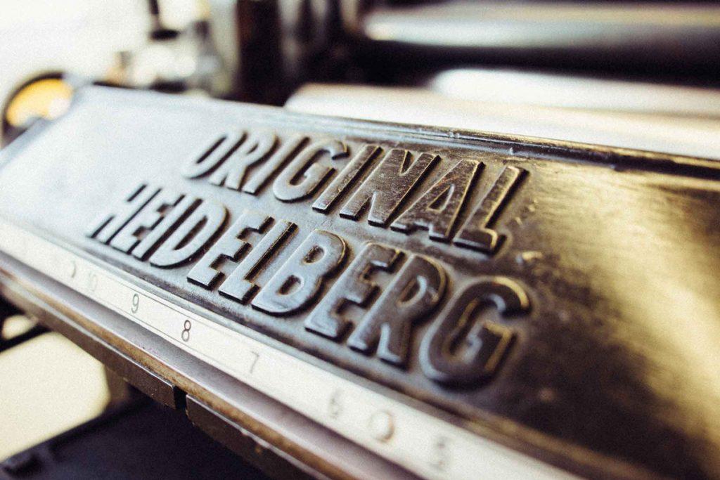 Haptische Erlebnisse mit dem Original Heidelberger Tiegel