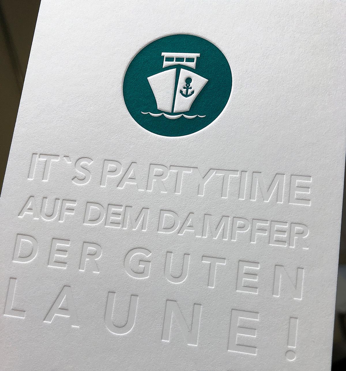 Was Ist Eine Blindprägung Letterpress Hamburg