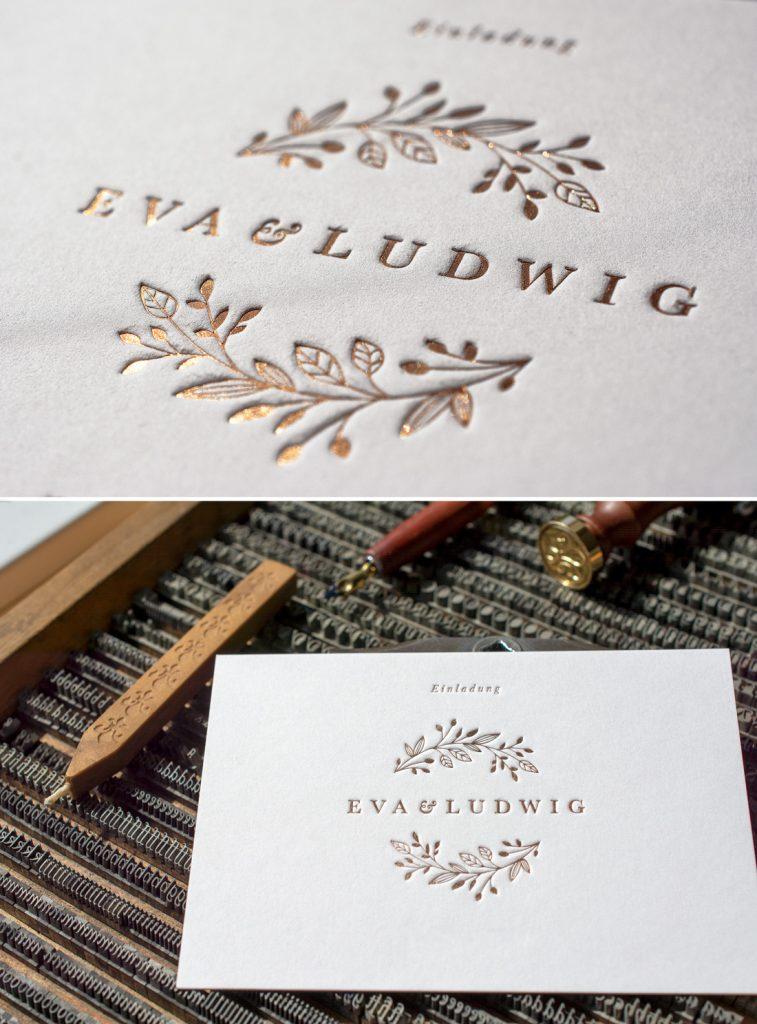 Können wir auch mit einem geringen Budget eine Hochzeitskollektion im Letterpress fertigen lassen?