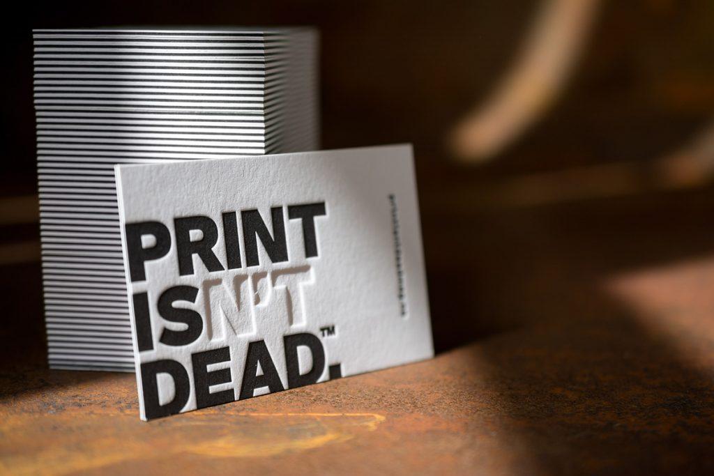 Jeder Druckjob im Letterpress ist für uns immer eine neue Challenge.