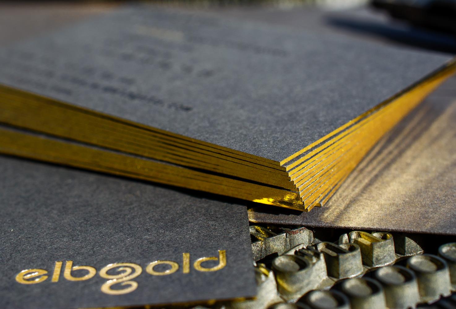 Goldschnitt und Folienschnitt als Schnittverzierung