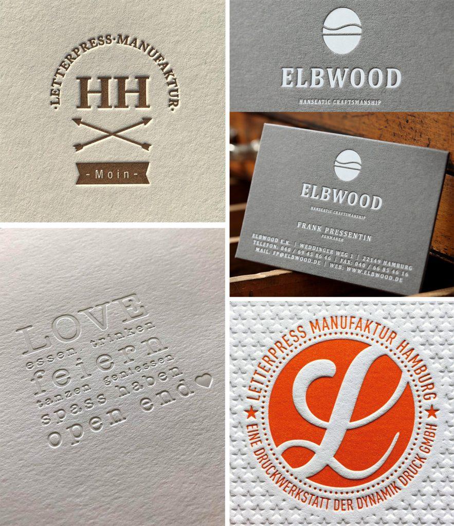Entdecke die Schönheit und die Haptik der Tiefprägung im Letterpress.
