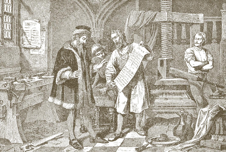 Was hat Johannes Gutenberg eigentlich mit Buchdruck zu tun?